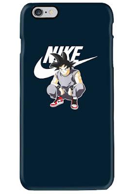 goku nike phone case