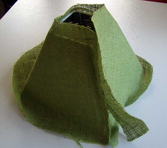 burlap_lampshade crafty_lampshade