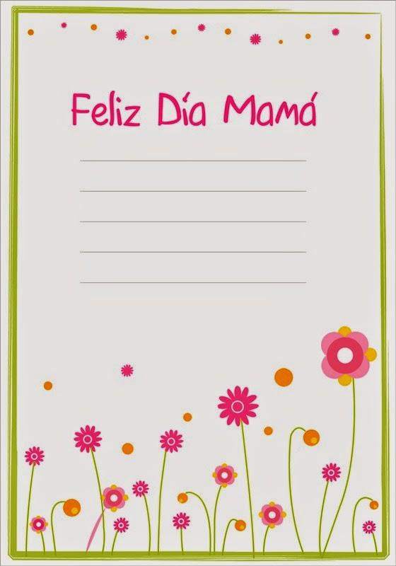 Maestra de Primaria: Tarjetas de felicitación para el día de la Madre