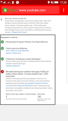 Cara Monetize Channel Youtube dari Smartphone Android