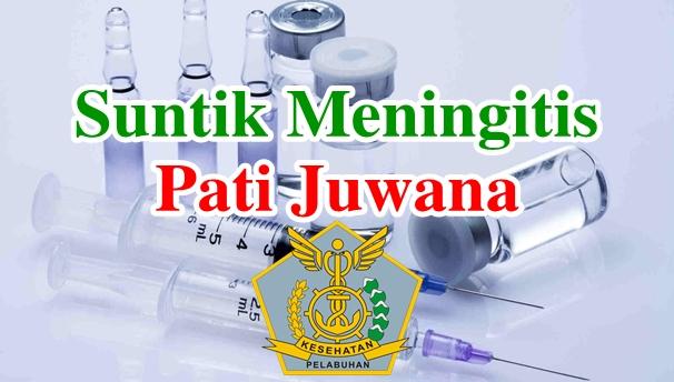 Alamat Tempat Suntik Vaksin Meningitis di Pati Juwana