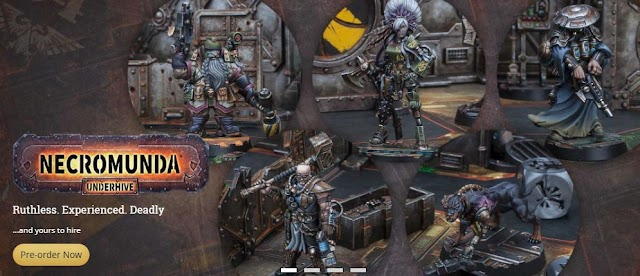 New Bounty Necromunda Bounty Hunters and Goliath Weapons with Rules