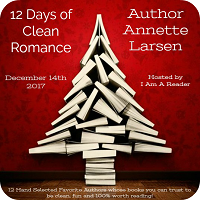 Day 10 of 12 Days of Clean Romance / Giveaway