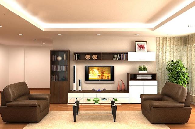 Cách kết hợp kệ tivi với bàn ghế sofa cho phòng khách đẹp