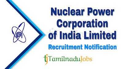 NPCIL Recruitment notification 2019, NPCIL Recruitment 2019, govt jobs for ITI