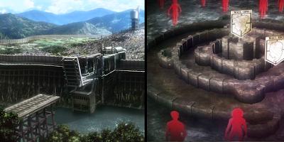 Dinding Stasiun vs Dinding Titan