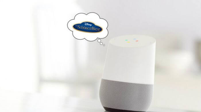 Google Home: Language Assistant advertises unasked for Disney movie