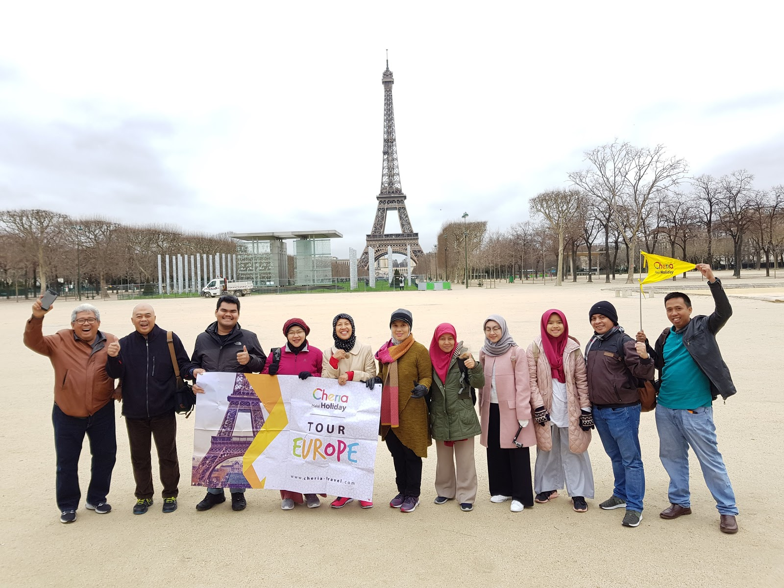 Paket Tour Eropa Muslim Friendly 2018 2019 Promo Cheria Holiday Wisata 3 Negara