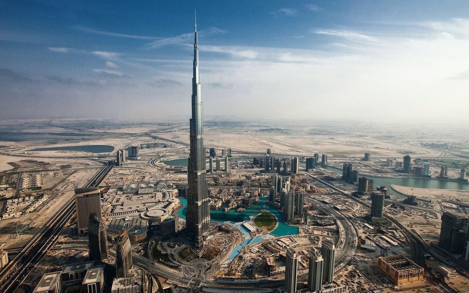 Cityscape in Dubai 1920 x 1200