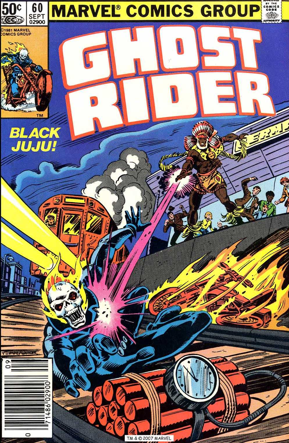 Ghost Rider (1973) issue 60 - Page 1
