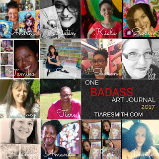 http://tiaresmith.com/workshops/one-badass-art-journal/