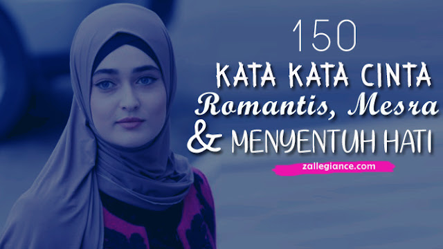 150 Kata Kata Cinta Romantis Mesra dan Menyentuh Hati