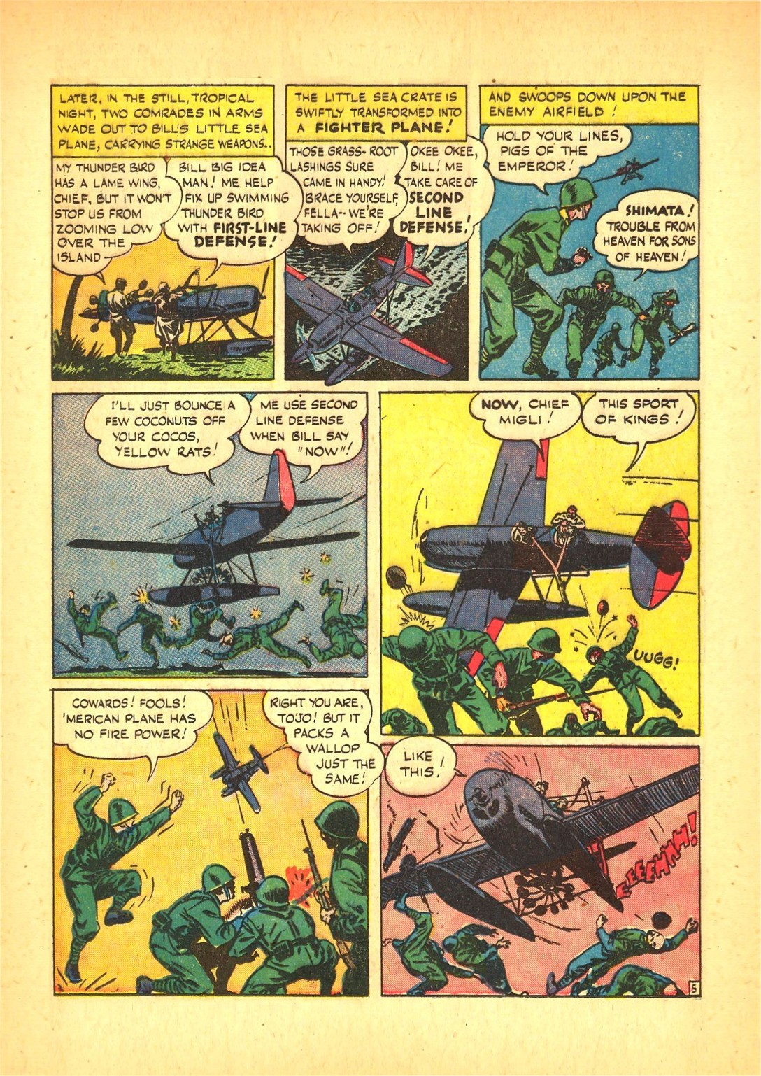 Read online Action Comics (1938) comic -  Issue #72 - 36