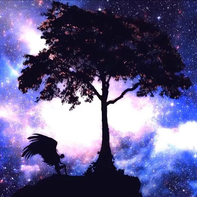 Angel Under Tree - Wallpaper Hiso Wallpaper Engine