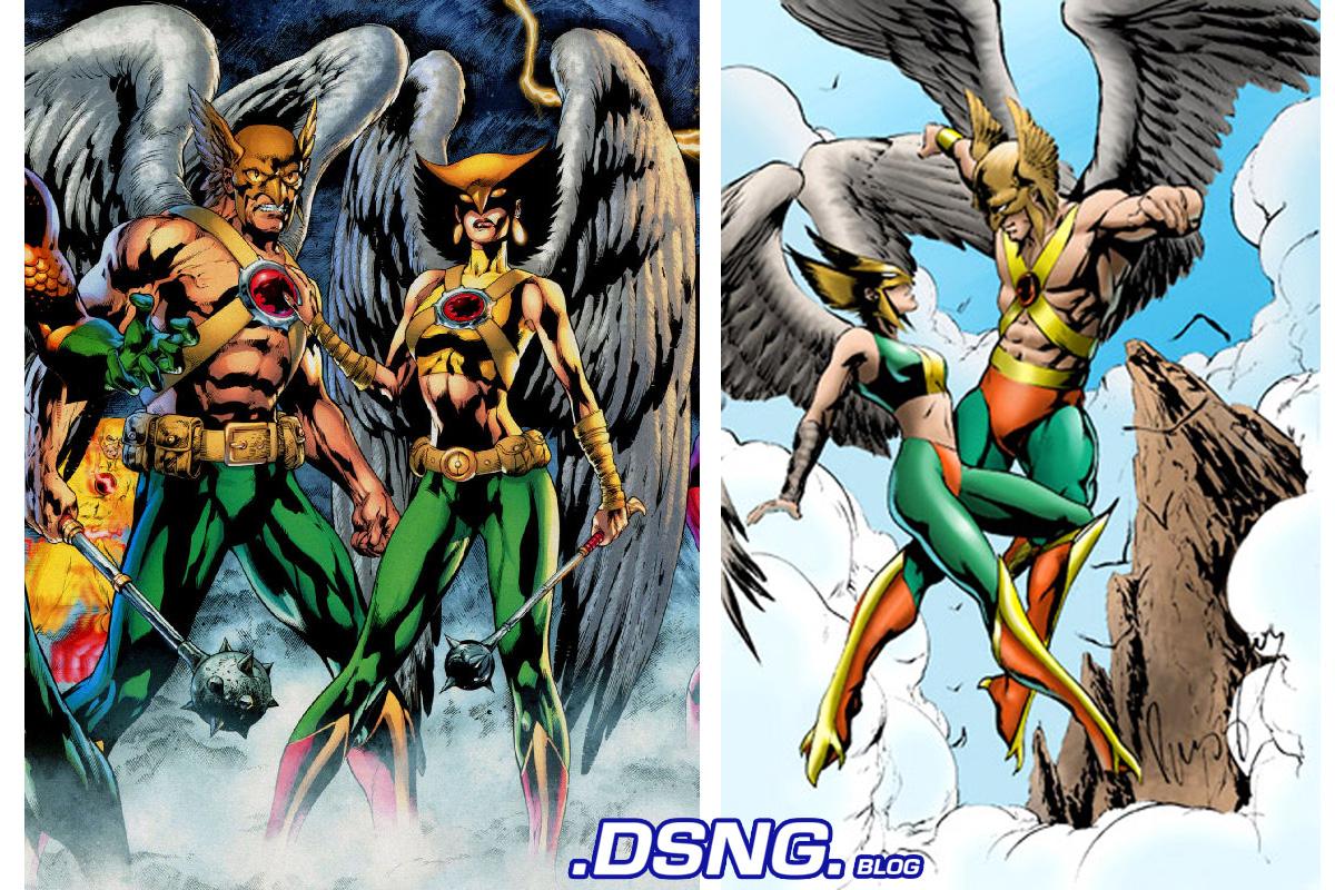 'Legends of Tomorrow' Hawkman Hawkgirl | Hollywood Reporter