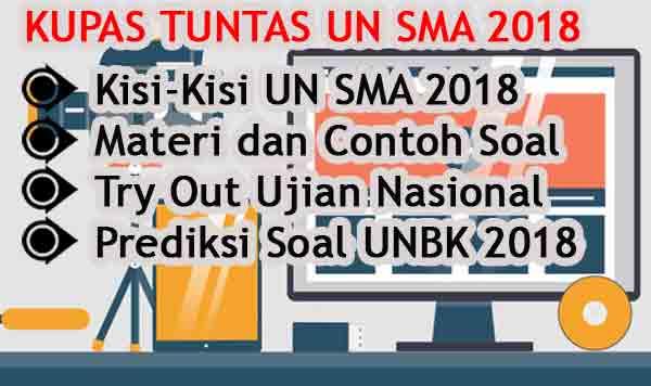 Kumpulan Soal UN SMA 2017 dan Pembahasannya Lengkap