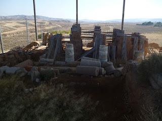 Edificio de adobe de la acrópolis