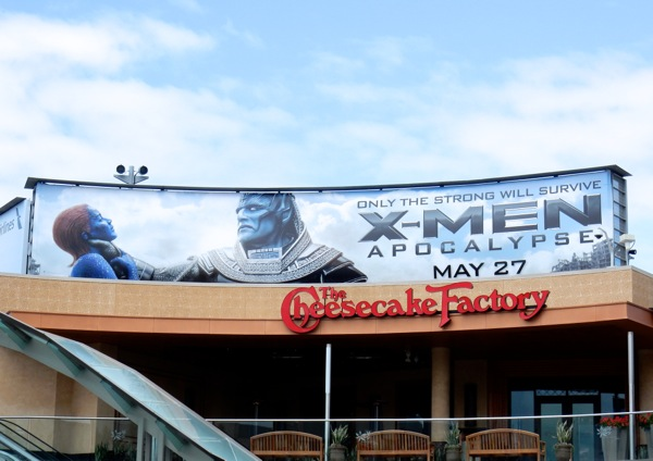 X-Men Apocalypse Mystique billboard