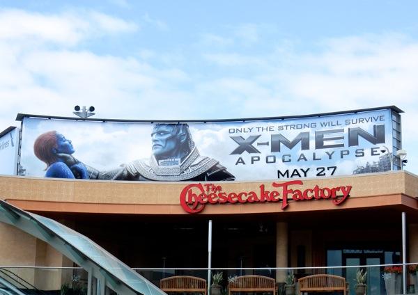 X-Men Apocalypse Mystique billboard