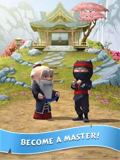 Download Gratis Clumsy Ninja APK Official + Mod + Data ( Unlimted Coins/ Gems) Updated