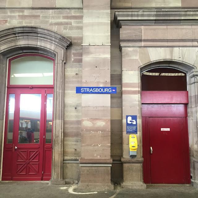 Bahnhof Straßburg stadtlandjob