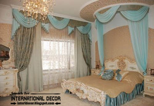 ready made curtains, modern curtain designs, turquoise curtains