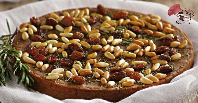 Tarta de Piñones al Moscatel