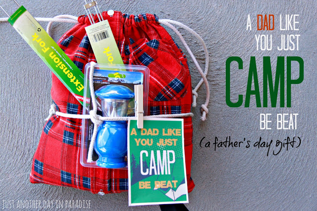 Home Confetti Camping Themed Father S Day Gift