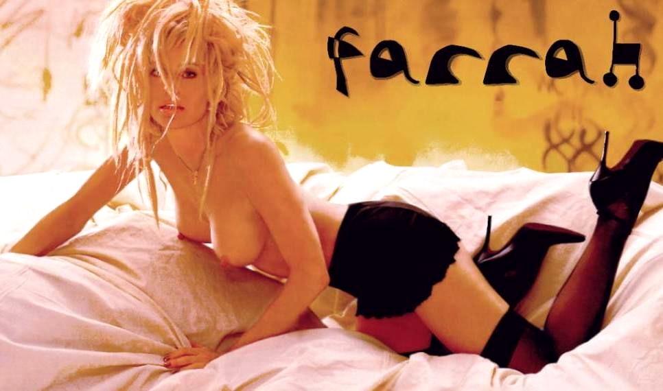 What Farrah fawcett naked thanks