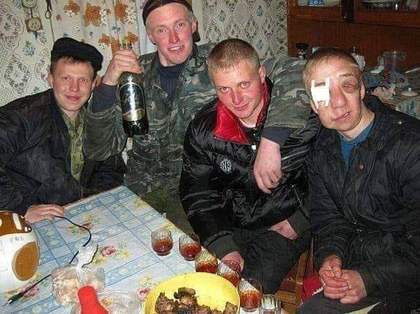 Típico jantar russo