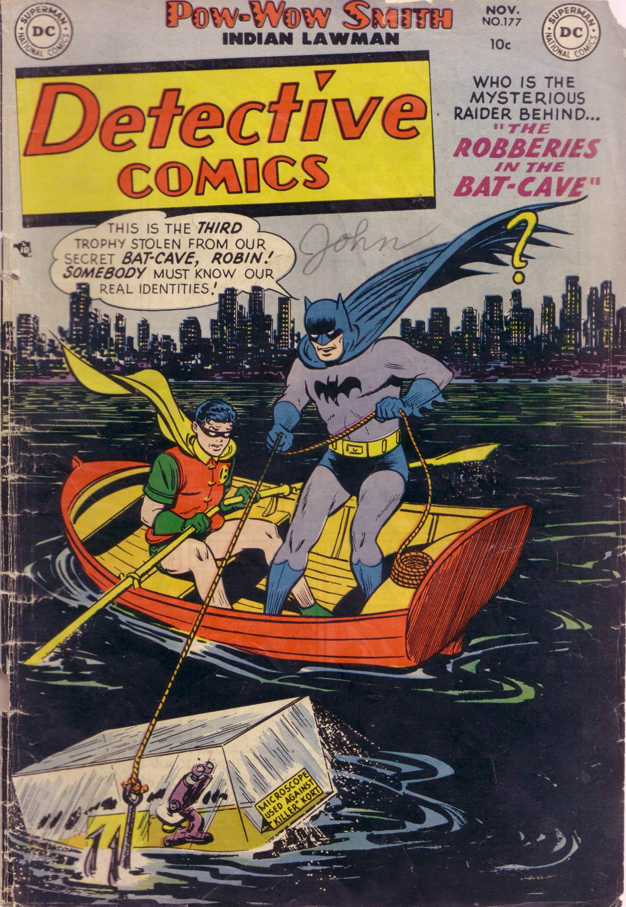 Detective Comics (1937) 177 Page 1