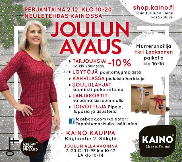 Osta työtä Suomeen -päivä Kaino