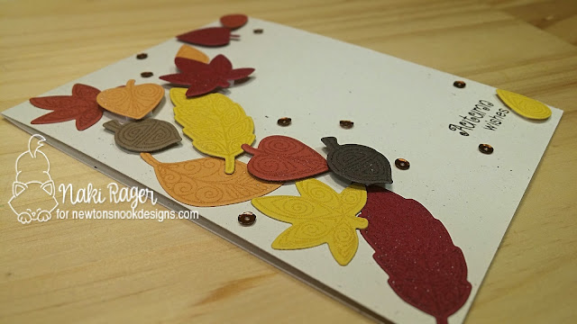 Newton's Nook Designs Beautiful Leaves Set - Naki Rager