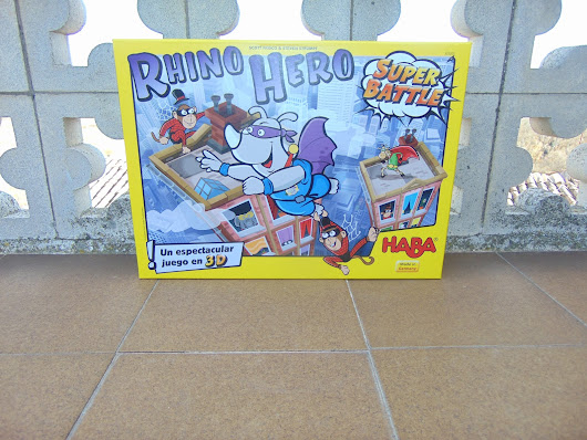 Seduce con la mirada by Cris : Rhino Hero Super Battle - Haba España
