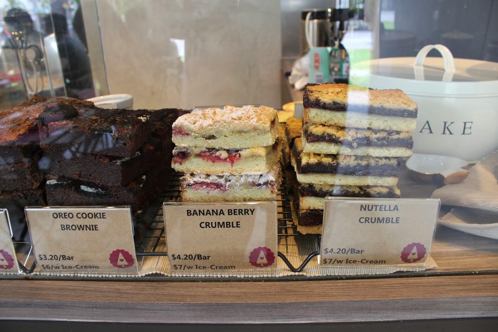 Nutella Banana Cake Singapore