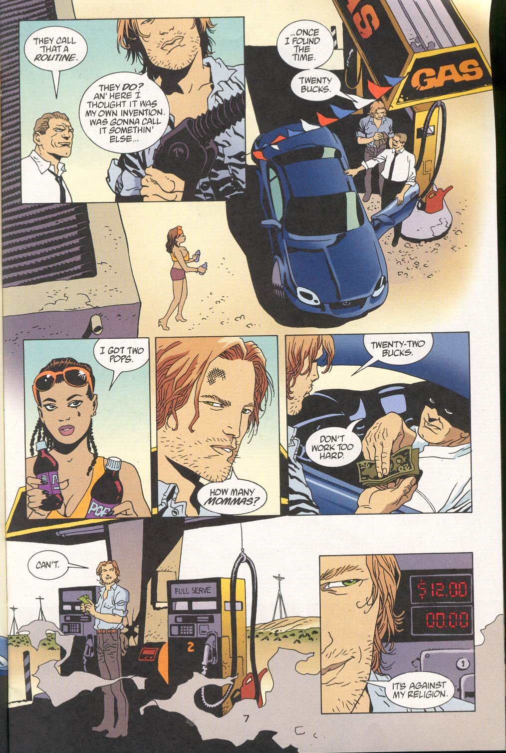 Read online 100 Bullets comic -  Issue #28 - 9
