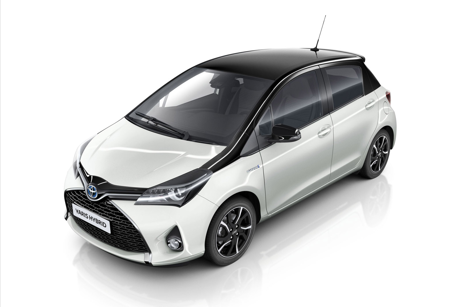 toyota yaris trd white all new vellfire 2020 goes high contrast in italy with special