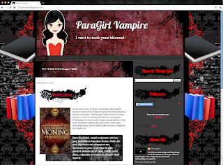 Vampire Blogger Template