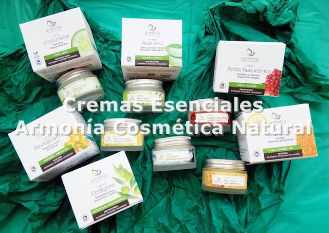 Cremas Esenciales Armonía Cosmética Natural