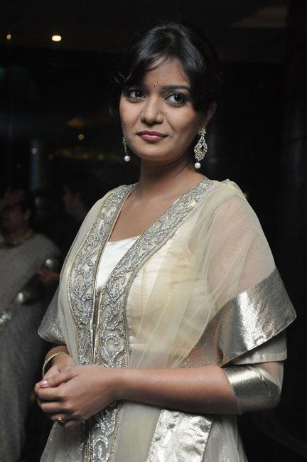 Looking beautiful in white colour swathi at bangaru kodipetta audio launch