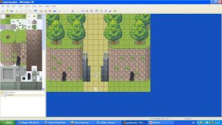 cara mengganti karakter RPG Maker XP