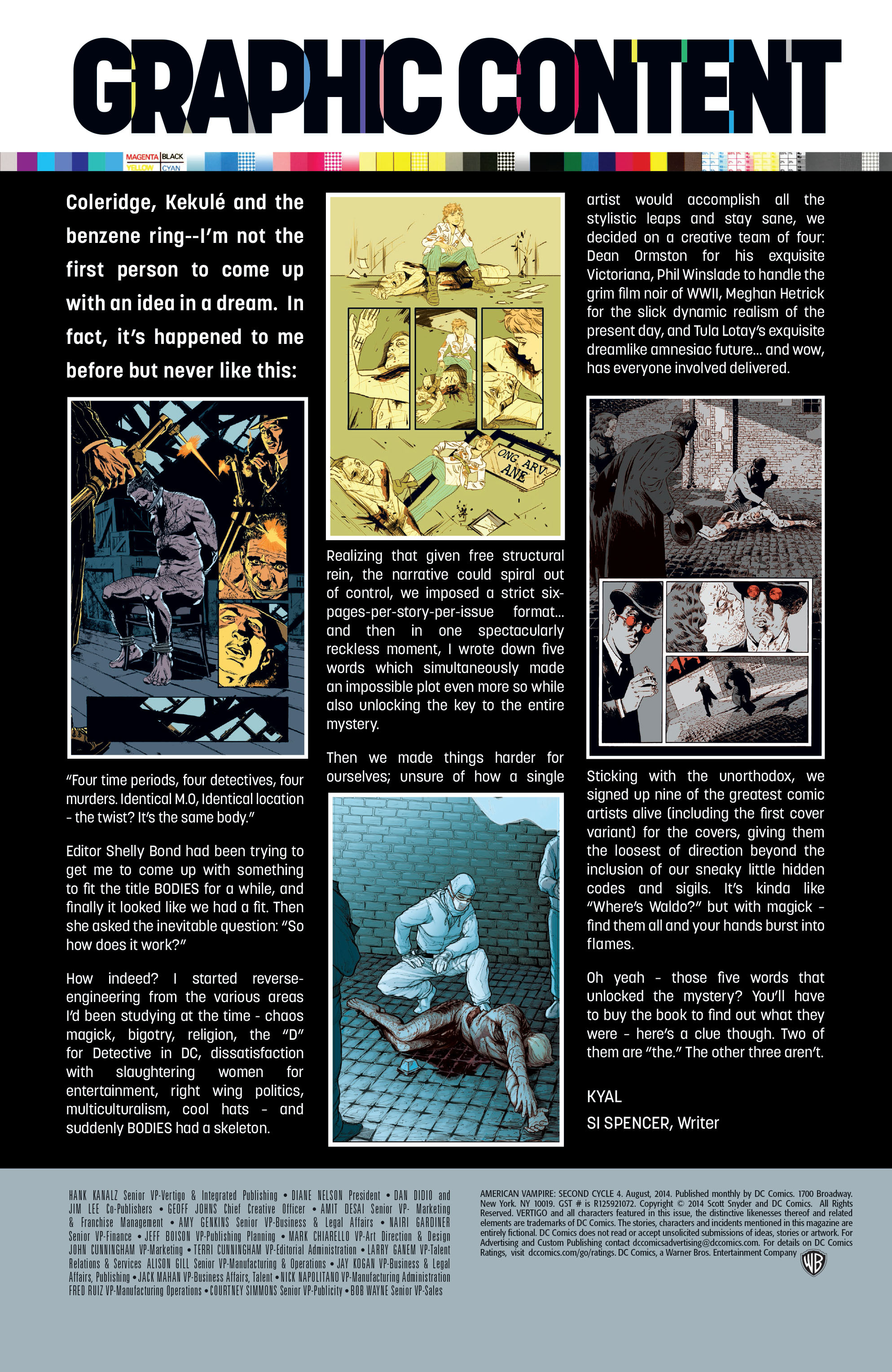 Read online American Vampire: Second Cycle comic -  Issue #4 - 22