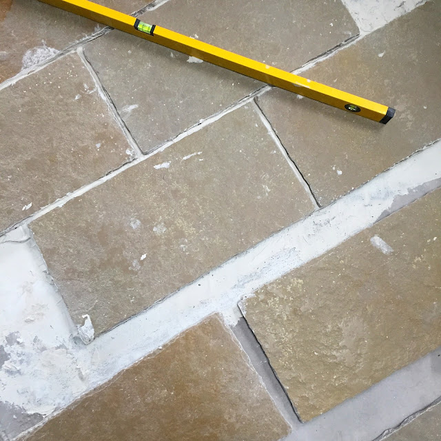 How to lay limestone