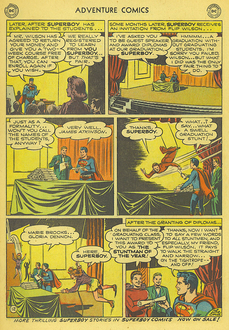 Read online Adventure Comics (1938) comic -  Issue #165 - 13