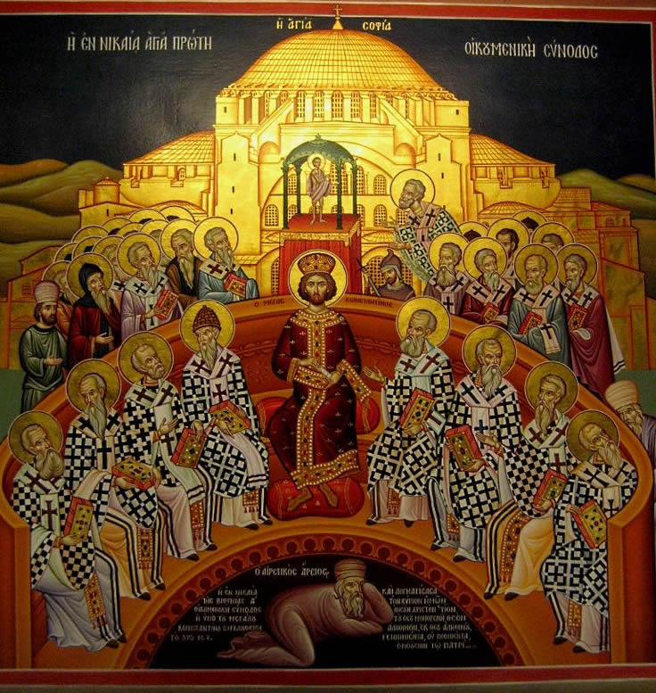 Emperor in christian council