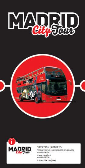 Rutas, tarifas y horarios del Bus Turístico 'Madrid City Tour'