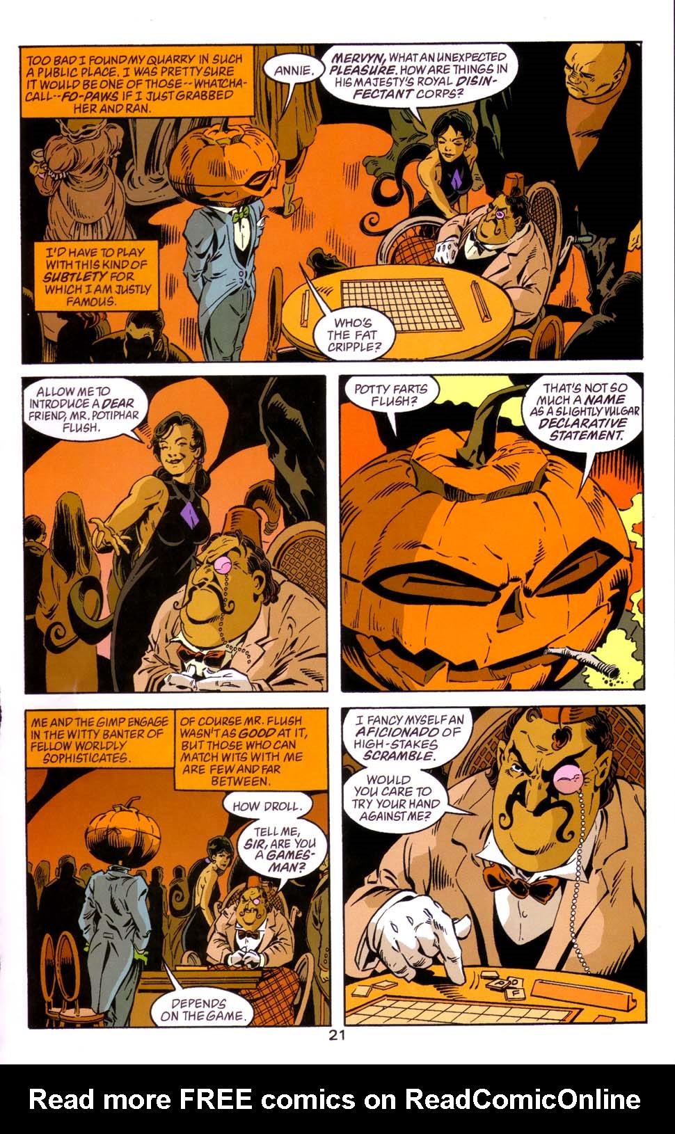 Read online Merv Pumpkinhead, Agent of D.R.E.A.M. comic -  Issue # Full - 22