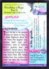 My Little Pony Friendship is Magic - Part 2 Series 3 Trading Card