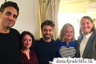 Amy Poehler and Rachel Dratch visit Daniel Radcliffe at The Lifespan of a Fact