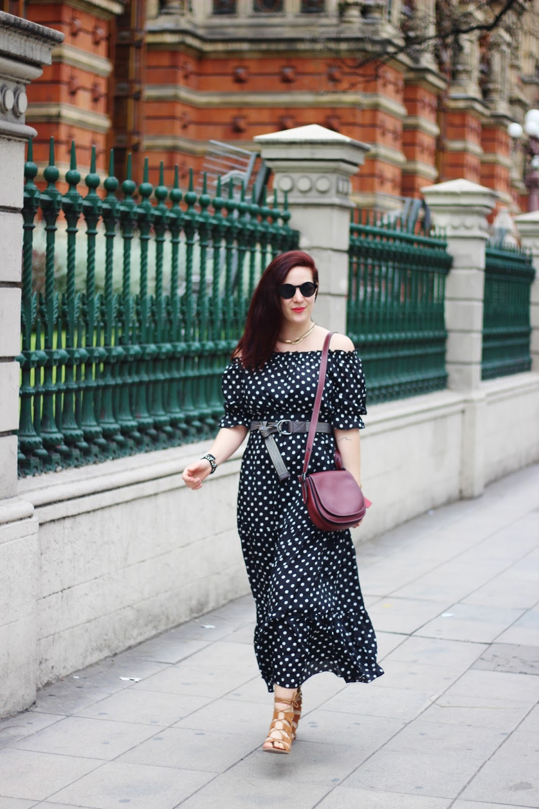 vestido de lunares mujer